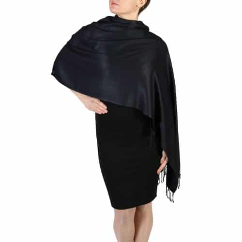 black pashmina wrap shawl (1)