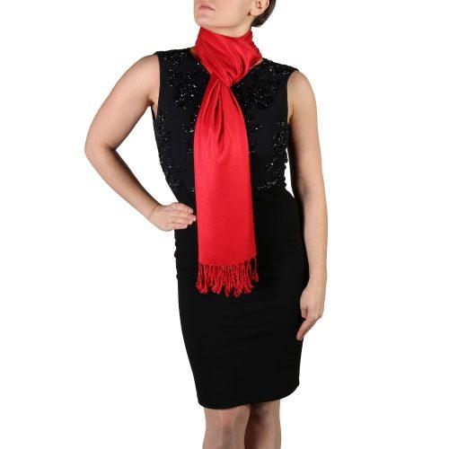 red pashmina scarf wrap shawl (2)