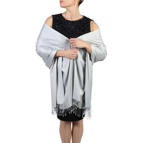 silver pashminas scarves shawls (1)