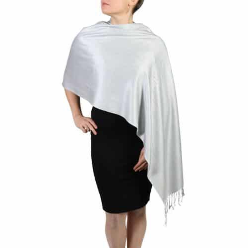 silver pashminas scarves shawls (5)