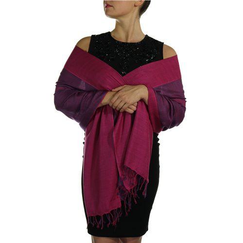 cerise pashmina wrap shawl scarve (3)