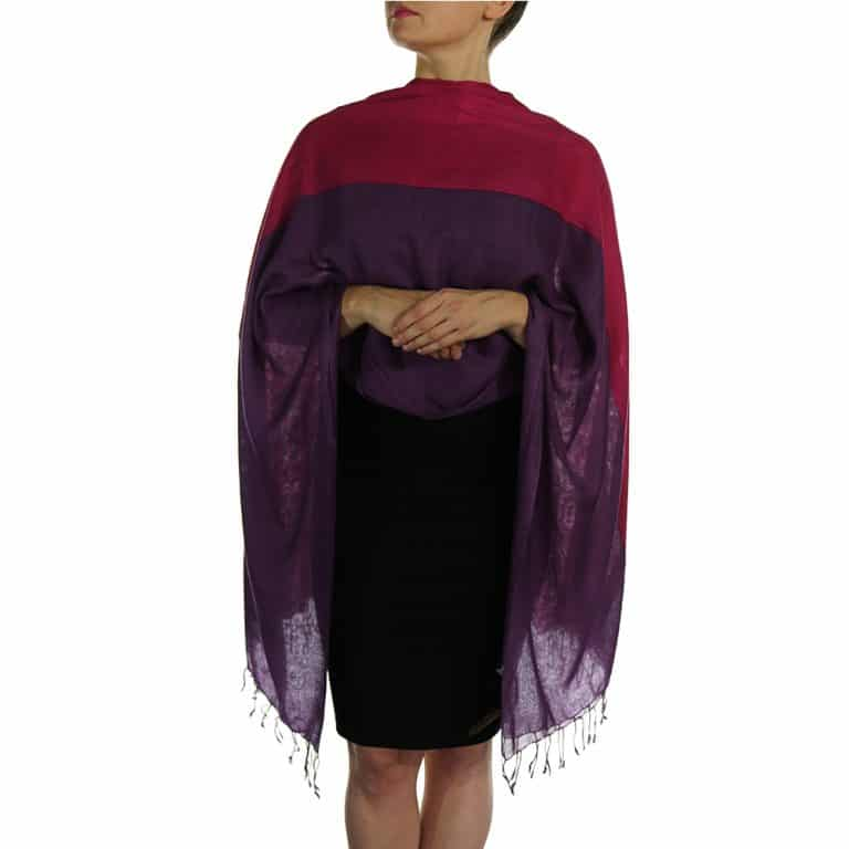 cerise pashmina wrap shawl scarve (4)