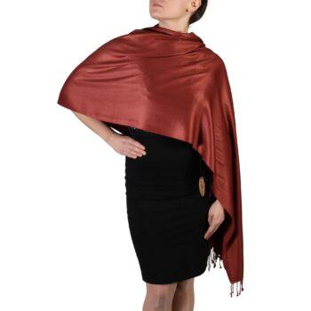 Brown Pashmina Scarf Shawl Wrap – York Shawls
