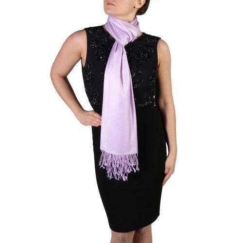 lilac pashmina scarf shawl wrap (4)