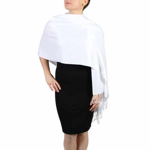 white pashminas wraps stoles (3)