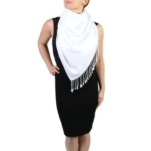 white pashminas wraps stoles (4)