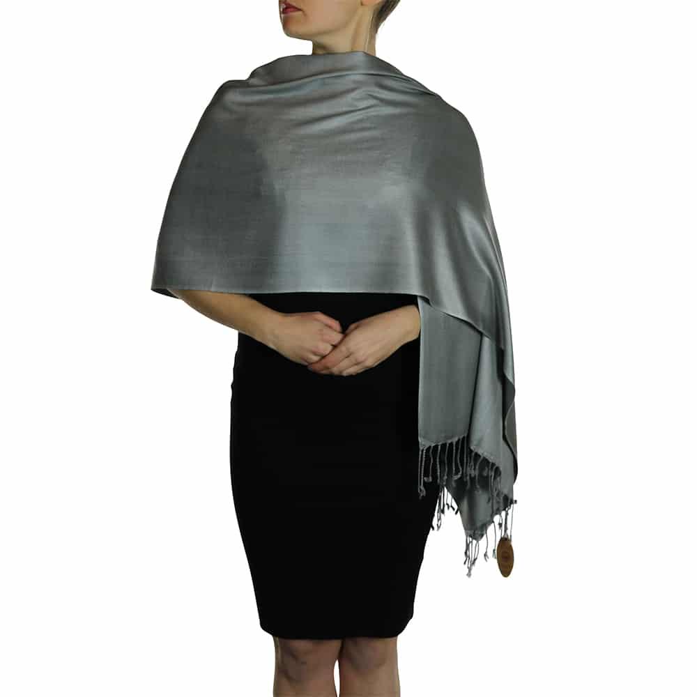 dark silver pashmina 4