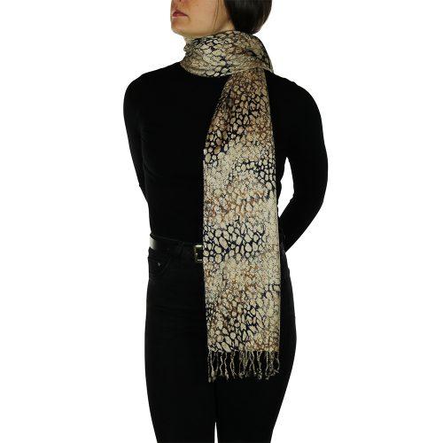 leopard pashmina 2