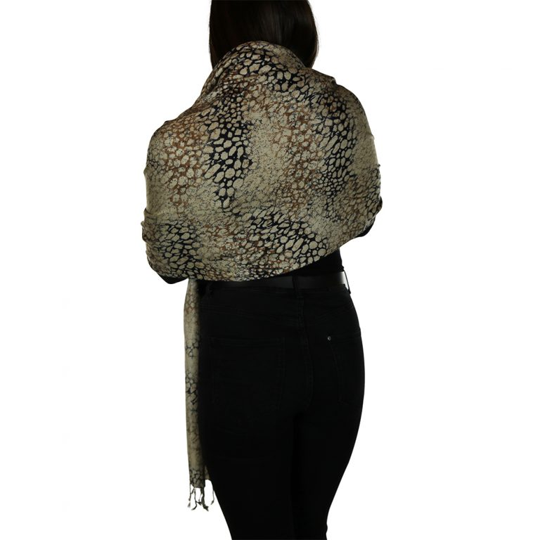 leopard pashmina 3