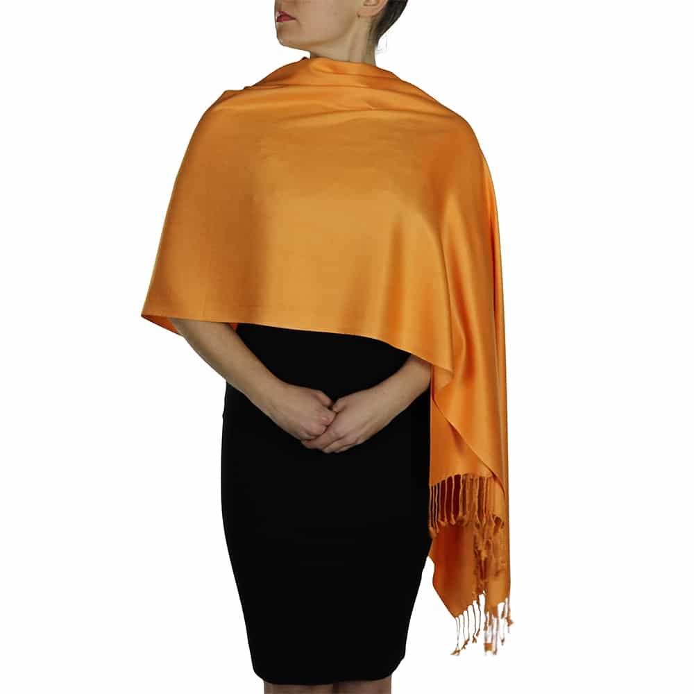 orange pashmina 4
