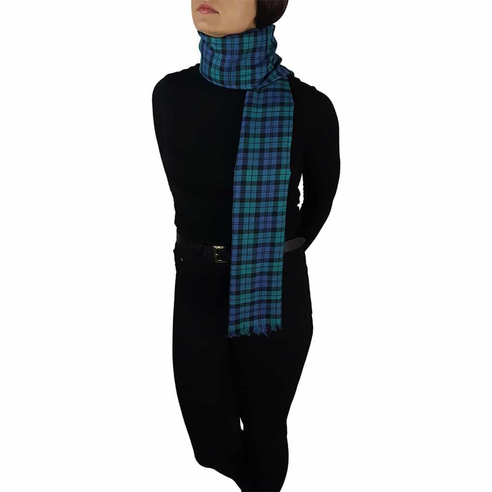 tartan pashmina blackwatch 2