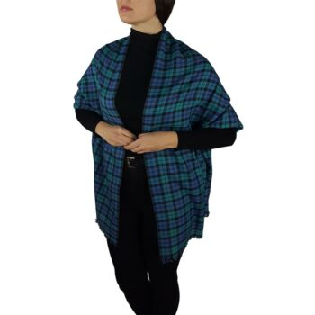 tartan pashmina blackwatch 4