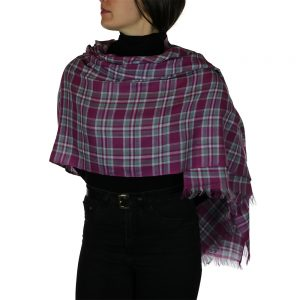 tartan pashmina dummond of perth 3