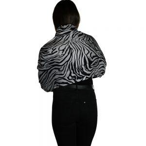 zebra pashmina