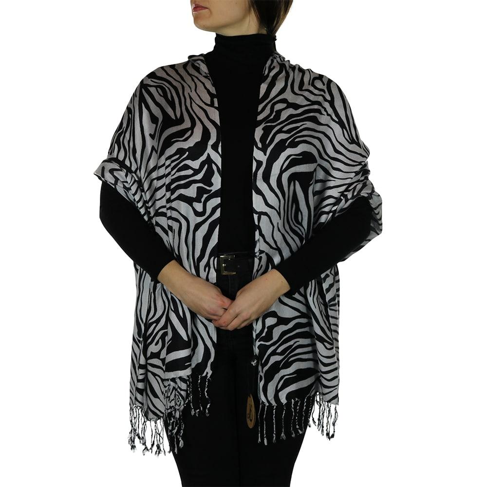 zebra pashmina 2