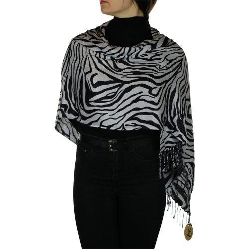 zebra pashmina 3