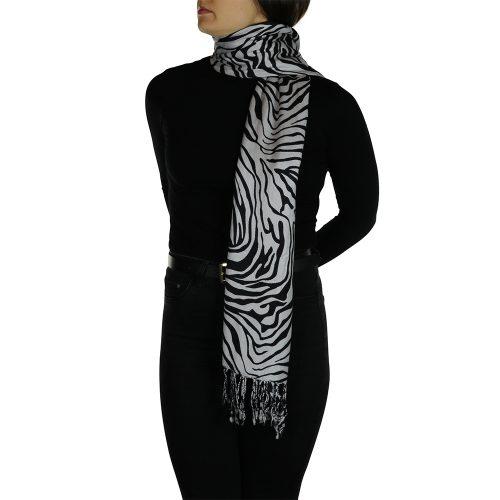 zebra pashmina 4