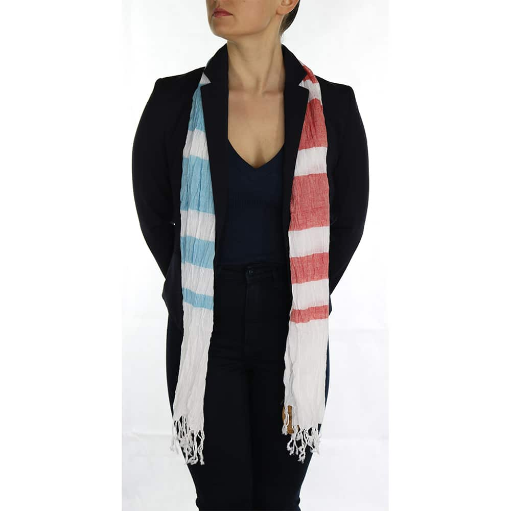 creased pashmina blue red (4)