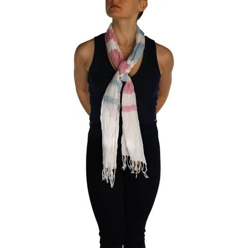 creased pashmina pink and blue (1)