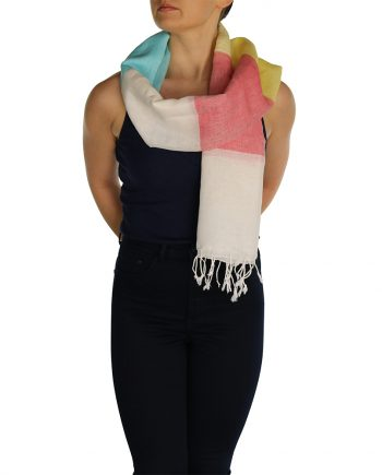 linen pashmina red blue yellow (2)