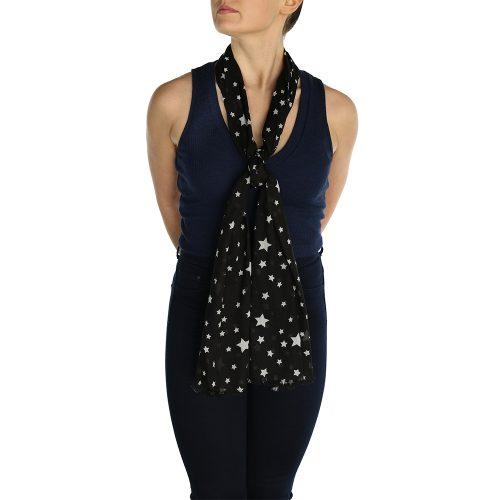 pashmina star black (4)