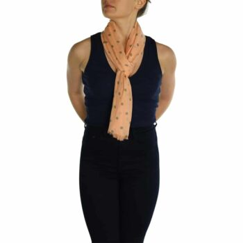 polka dot ladies sacrves peach (2)