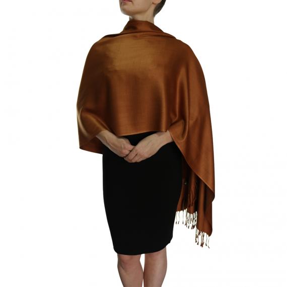 chocolate pashmina ladies scarves wrap shawl (5)