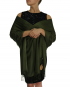 dark green pashmina ladies scarves shawl wrap (1)