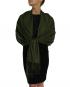 dark green pashmina ladies scarves shawl wrap (2)