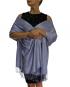 lavender pashmina ladies scarves shawl wrap (4)