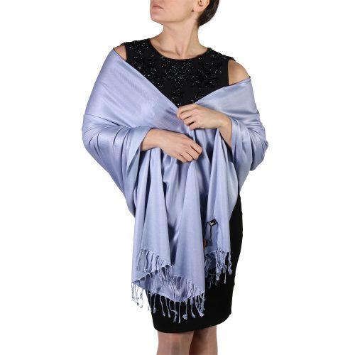 lavender pashmina shawl wrap stole (1)