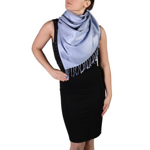 lavender pashmina shawl wrap stole (2)
