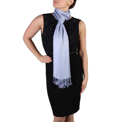 lavender pashmina shawl wrap stole (3)