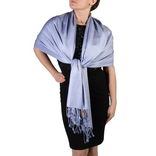lavender pashmina shawl wrap stole (4)