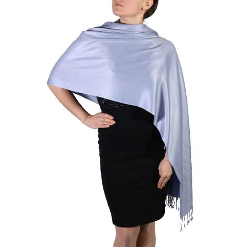 lavender pashmina shawl wrap stole (5)
