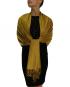 mustard pashmina ladies scarves shawl wrap (1)