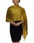 mustard pashmina ladies scarves shawl wrap (2)