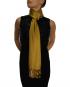 mustard pashmina ladies scarves shawl wrap (3)