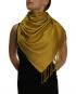 mustard pashmina ladies scarves shawl wrap (4)