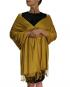 mustard pashmina ladies scarves shawl wrap (5)