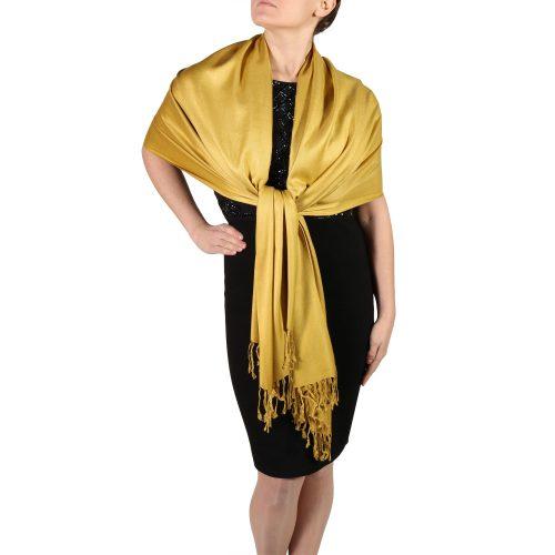 mustard pashmina wrap shawls (1)