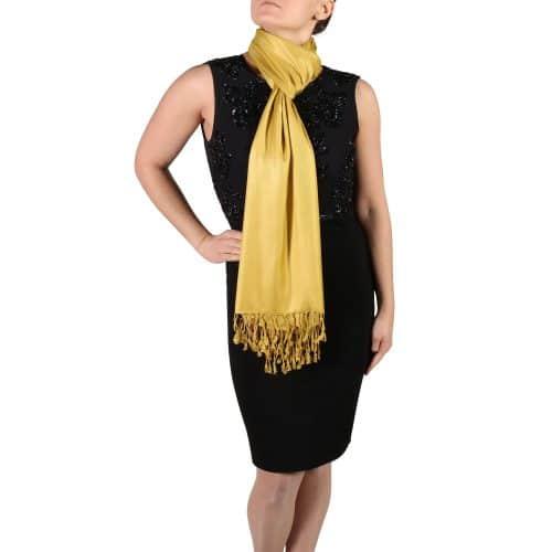 mustard pashmina wrap shawls (5)