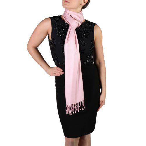 baby pink pashmina scarf shawl wrap (4)