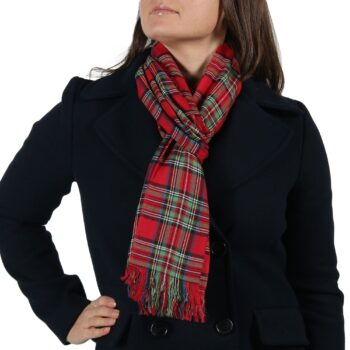 royal stewart pashmina wrap scarve stole (4)