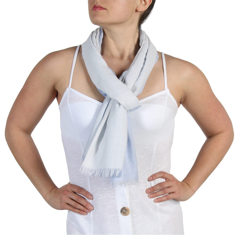 4 Colour Tone Summer Scarf for Women – 100% Fairtrade – Holiday,