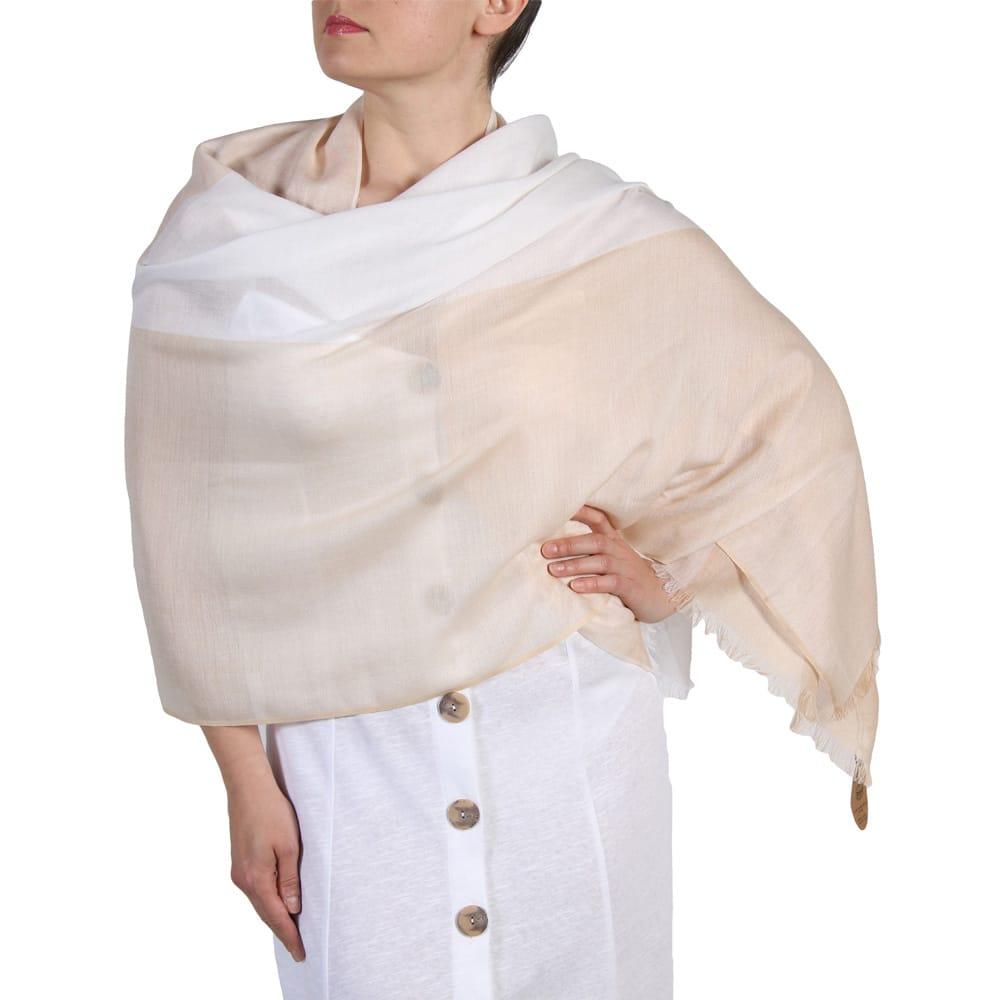 Summer Cotton Blend Pashmina Scarf